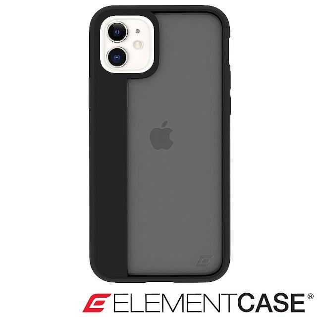 【Element Case】iPhone 11 Illusion(輕薄幻影軍規殼 - 酷黑)
