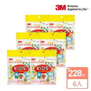 【3M】兒童牙線棒散裝包38支x6包(共228支)/