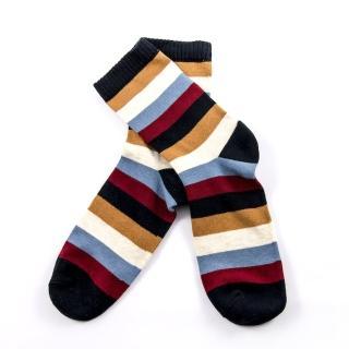 【公主童襪】兒童設計款中筒襪/短襪 - 史密斯條紋(0-12歲)