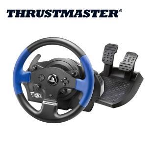 【THRUSTMASTER】T150 力回饋方向盤雙踏板組(PS原廠授權)