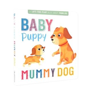 【iBezt】Baby Puppy Mummy Dog(A LIFT-THE-FLAP Book About)