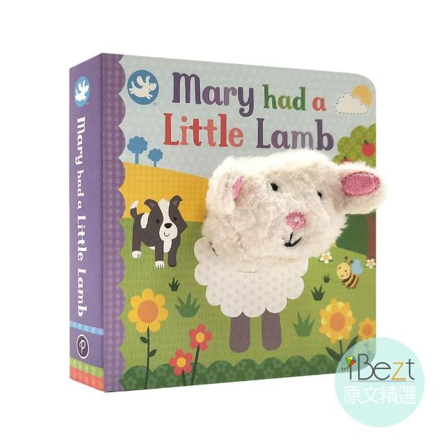 【iBezt】Mary had a Little Lamb(Little Learners Finger Puppet Book)