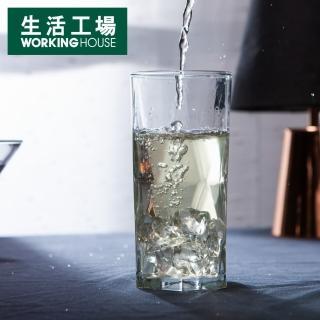 【生活工場】菱形切紋冷飲杯460cc