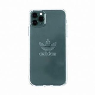 【adidas 愛迪達】iPhone 11 Pro Max 大三葉草透明手機殼