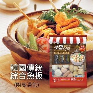 【韓國水協】綜合魚板湯包500g(62%高含量魚漿成分)