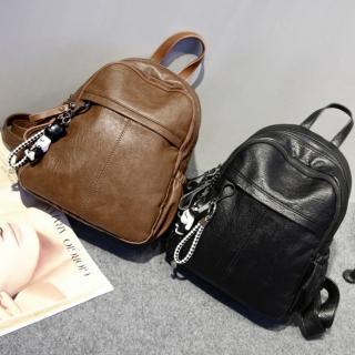 【Ela】韓版熱銷時尚學院風休閒後背包