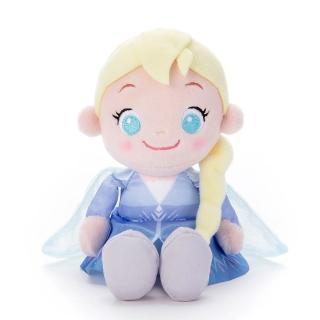 【Disney 迪士尼】冰雪奇緣2 豆豆好朋友 艾莎(人偶 吊飾)