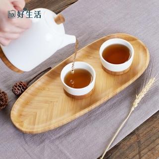 【hoi!】竹品日式橢圓托盤-原色 多款顏色可選