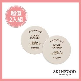 【SKINFOOD 思親膚】雪芙蕎麥蜜粉2入組(原廠唯一授權)