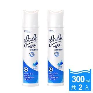 【滿庭香】Clean Air空氣清淨劑-自然清香(300mlx2入)