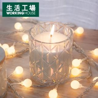 【生活工場】幻彩光晶透蠟燭杯 大