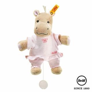 【STEIFF】河馬女孩 Mockyli Hippo(嬰幼兒音樂鈴)