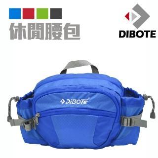【DIBOTE迪伯特】透氣休閒腰包/背包