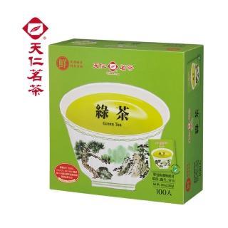 【天仁茗茶】天仁綠茶袋茶防潮包100入/