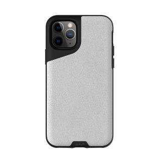 【Mous】Contour 天然材質防摔保護殼-雅白皮革(iPhone 11 Pro 5.8吋)