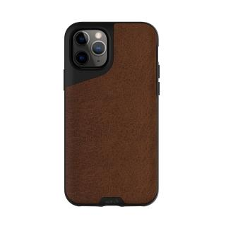 【Mous】Contour 天然材質防摔保護殼-摩卡皮革(iPhone 11 Pro 5.8吋)