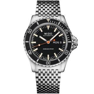 【MIDO 美度】Ocean Star海洋之星75週年特別版機械套錶組(M0268301105100)
