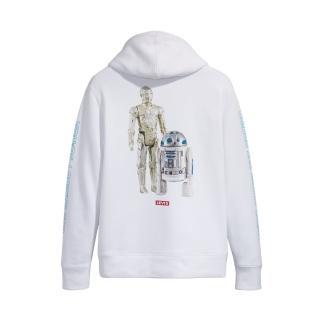 【LEVIS】X 星際大戰限量聯名 男款 口袋帽T / R2-D2 C-3PO印花