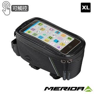 【MERIDA 美利達】自行車手機上管袋 支援6.5吋(車包/收納/置物/導航/環島/單車)