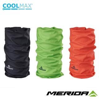 【MERIDA 美利達】Coolmax頭巾 素面款(圍脖/路跑/防曬/防風/單車/自行車)