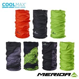 【MERIDA 美利達】Coolmax頭巾 LOGO款(圍脖/路跑/防曬/防風/單車/自行車)