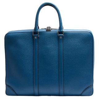 【Louis Vuitton 路易威登】M56000小牛皮拉鍊手提電腦公事包(展示品)