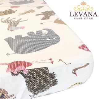 【LEVANA】美國棉床包-動物園(L/M)