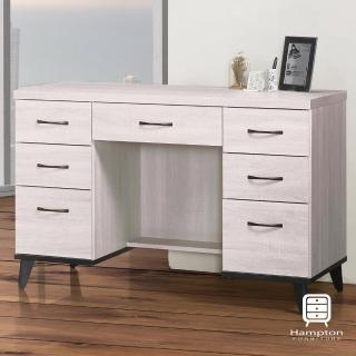 【Hampton 漢汀堡】柯拉系列鋼刷白4尺書桌(一般地區免運費/辦公桌/書桌/電腦桌/桌子)