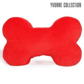 【Yvonne Collection】素面大骨頭抱枕(紅)