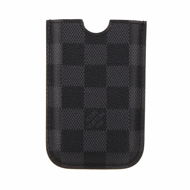 【Louis Vuitton 路易威登】LV Outlet N62669 經典Damier棋盤格手機套