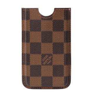 【Louis Vuitton 路易威登】N63101 經典Damier棋盤格IPhone4手機套