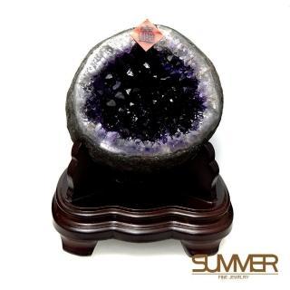 11月限定【SUMMER 寶石】天然烏拉圭紫晶洞2公斤(隨機出貨)