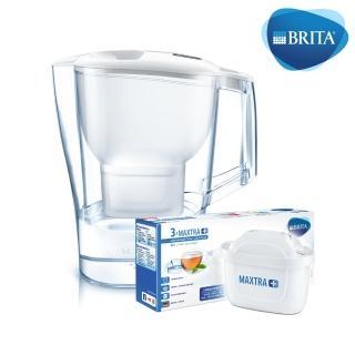 【德國BRITA】Aluna愛奴娜3.5L濾水壺+MAXTRA Plus 濾芯3入(共1壺4芯)