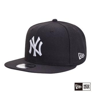 【NEW ERA】9FIFTY 950 MLB WHITE ON 洋基 棒球帽(黑)