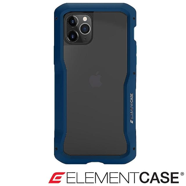 【Element Case】iPhone 11 Pro Max Vapor-S(頂級金屬框型軍規殼 - 藍)