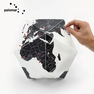 【Palomar】世界立體地圖球 S
