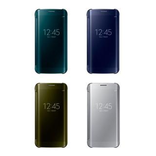 【SAMSUNG 三星】拆封新品 Galaxy S6 edge Clear View 原廠感應皮套