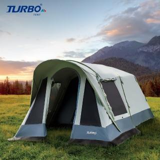 【Turbo Tent】Tourist 270 單件式ㄧ房一廳六人帳-強化版(速搭帳 全新版 全遮光 類黑膠  2020秋冬新款)