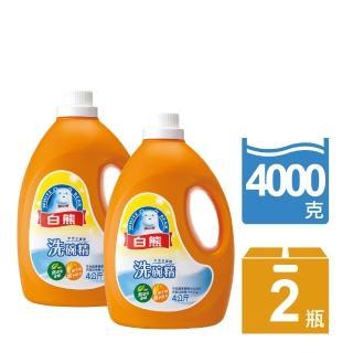 【白熊】白熊洗碗精4kg(2入)/