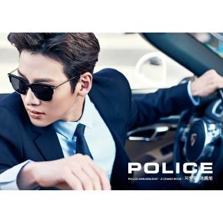 【POLICE】池昌旭代言太陽眼鏡 SPL464G(黑配金)