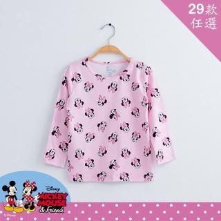 【WIWI】Disney迪士尼-溫灸刷毛圓領發熱衣 兒童款29款任選