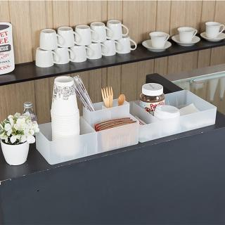 【 LITEM 里特】霧面多功能 整理收納盒 /4號(整理盒/霧面/DIY/分隔盒/分類盒/小物收納/抽屜收納)