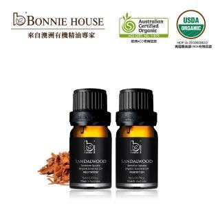 【Bonnie House 植享家】檀木精油5ml 2入組