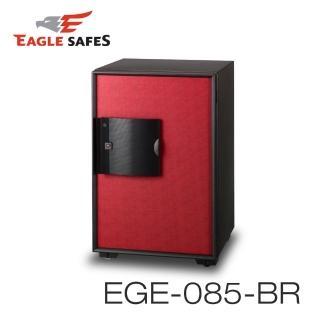 【Eagle Safes】韓國防火金庫 保險箱 EGE-085-BR 紅色(凱騰經銷)