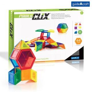 【GuideCraft】磁力實心積木-44件(STEAM玩具)