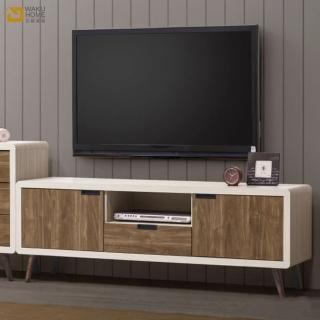 【德泰傢俱】Miduo北歐胡桃木5尺電視櫃 A006-B15