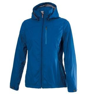 【Wildland 荒野】女輕量天鵝絨防風保暖外套(寶藍色)