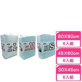 【MDOBI 摩多比】業務用專業級寵物尿布(6包組)