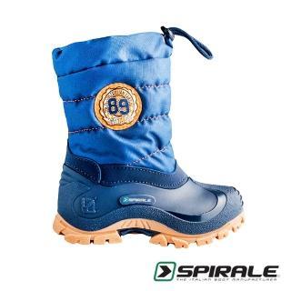 【義大利 SPIRALE】Eric童靴/雪靴(金剛藍)