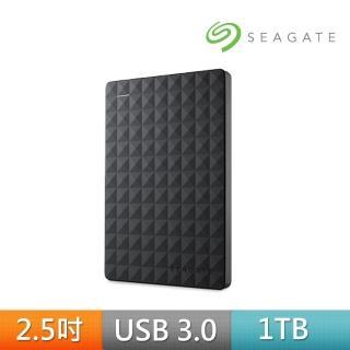 【SEAGATE 希捷】★新黑鑽Expansion 1TB USB3.0 2.5吋行動硬碟(STEA1000400)